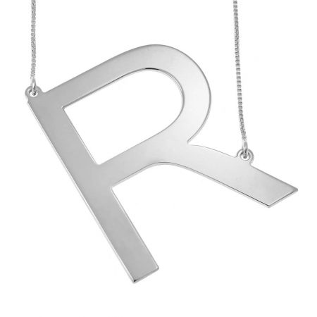 Big Initial Necklace