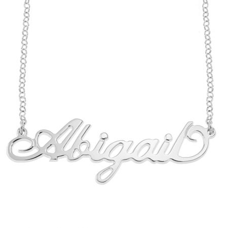 Carrie Rolo Name Necklace