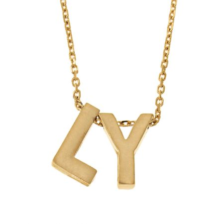 Chunky Initial Necklace
