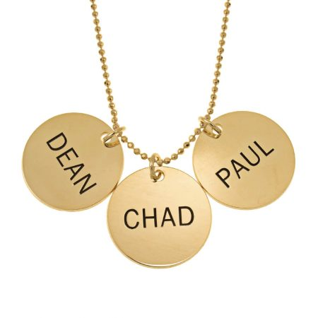 Classic Disc Mom Necklace