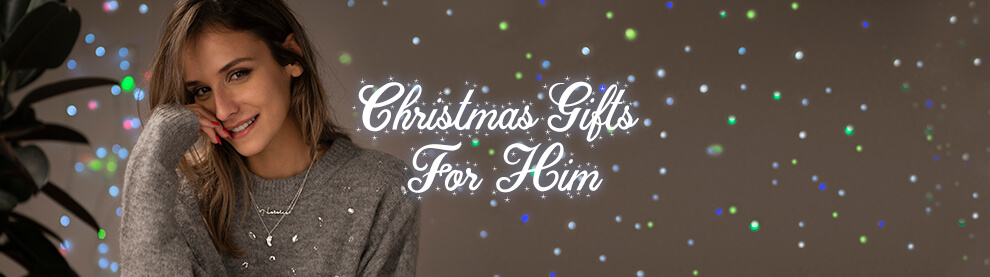 Christmas gifts for him mobile banner
